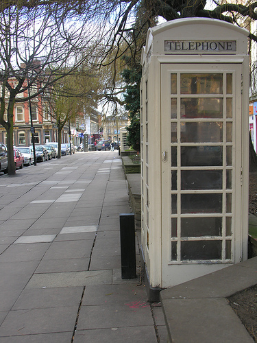 White Hull Telephone Box