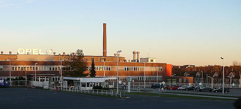 Deutsch: Adam Opel GmbH Werke Bochum II/III, e...