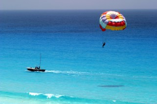 Parasailing in India, and its destinations.