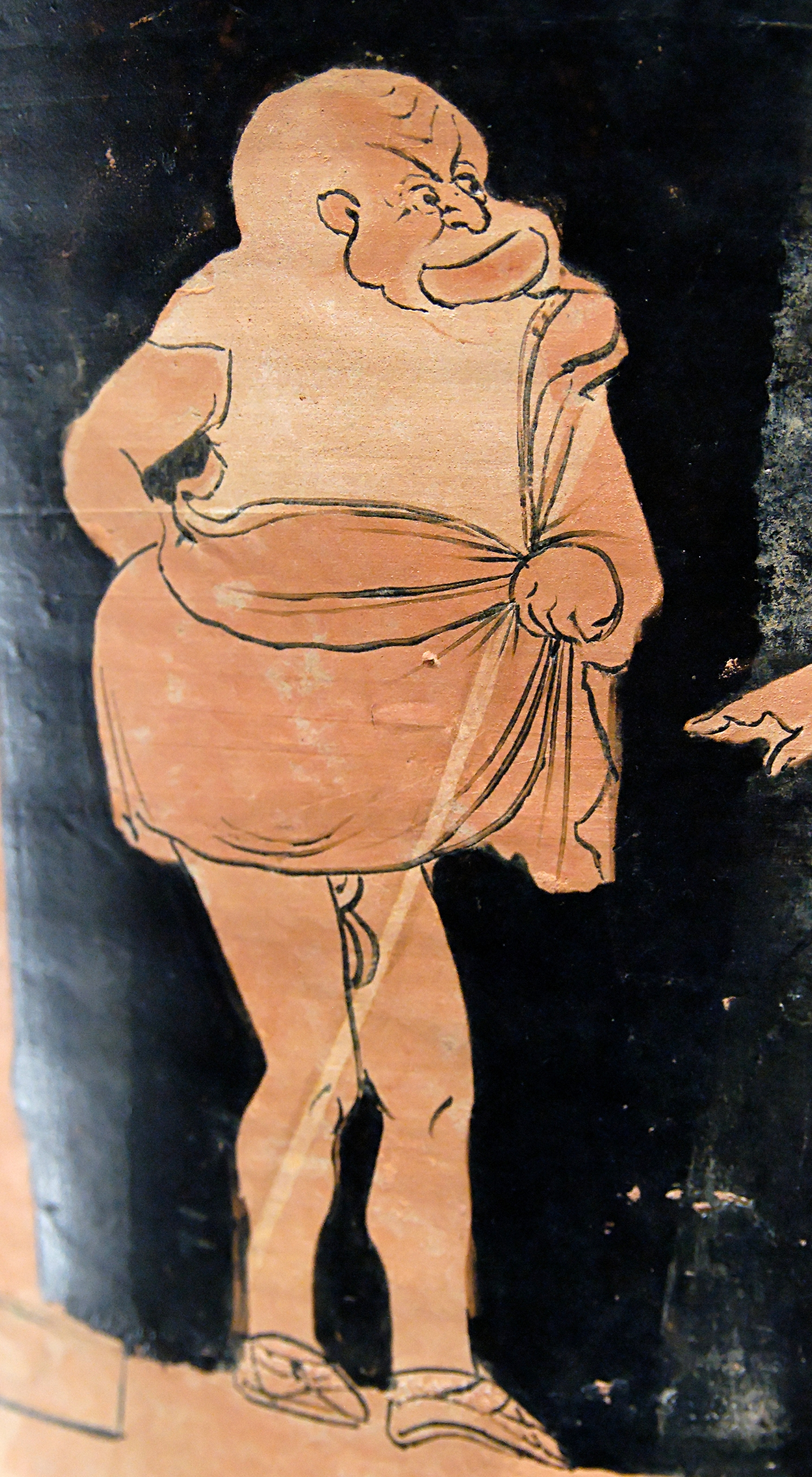 Image result for ancient greek comic vase