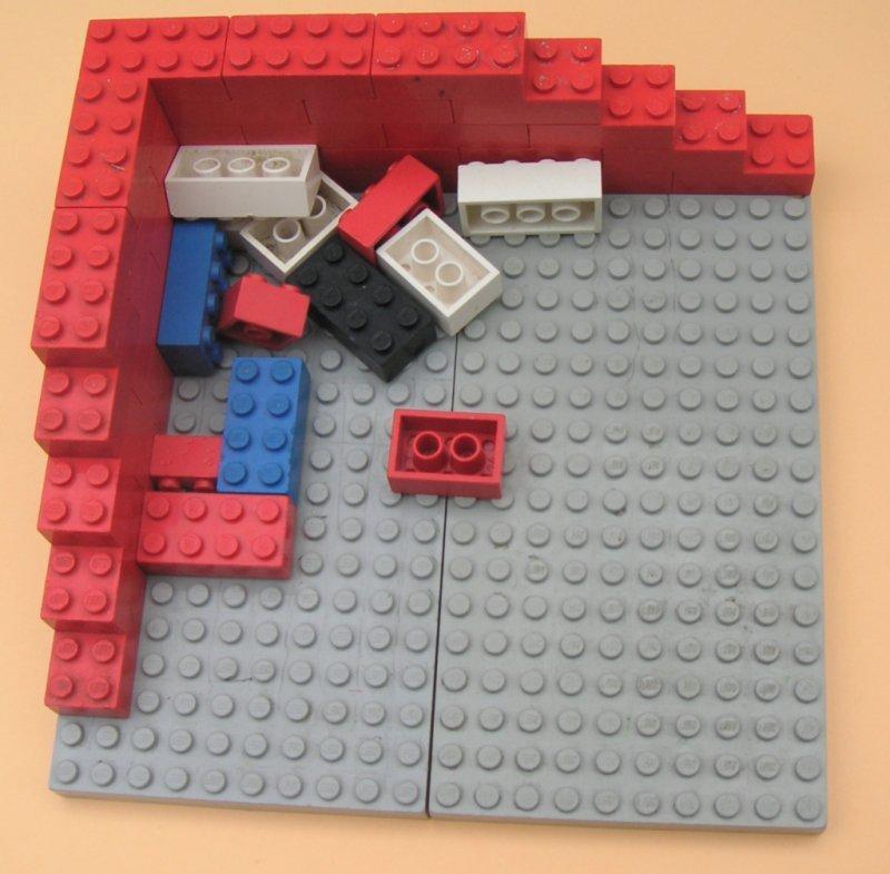 Tänk på exemplen som Lego-bitar