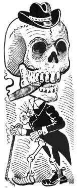 Image by José Guadalupe Posada, Mexican engraver