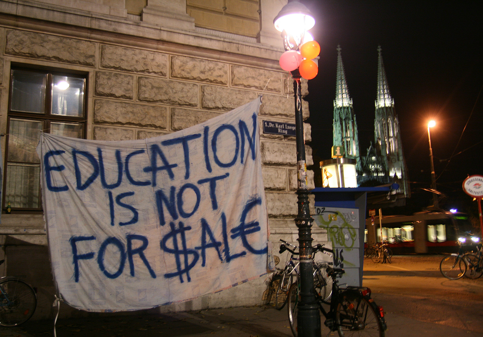 Student Protests at the University of Vienna