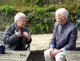 English: Two people in a CCI (Co-Counselling I...