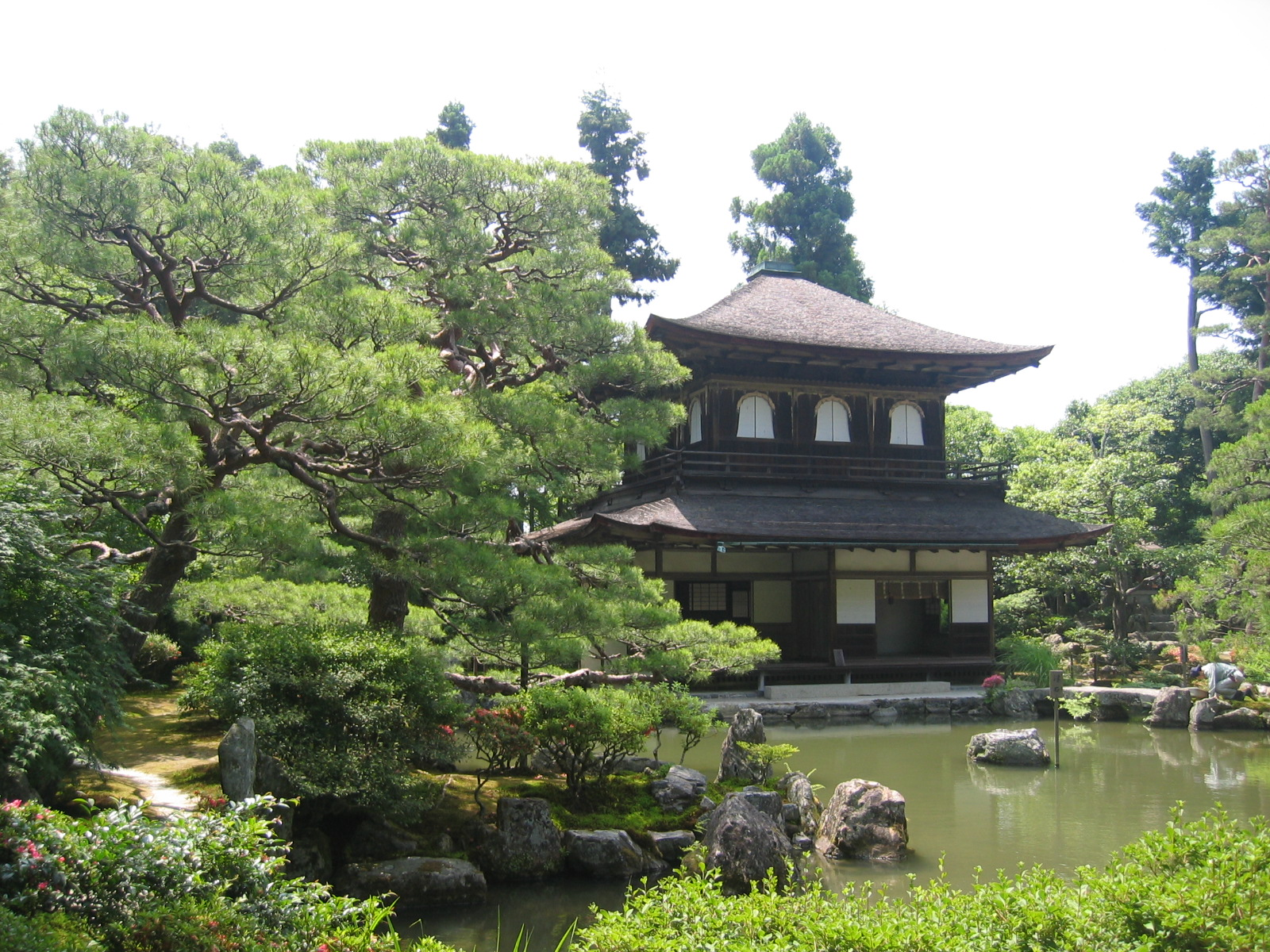 Ginkaku-ji, Jishō-ji