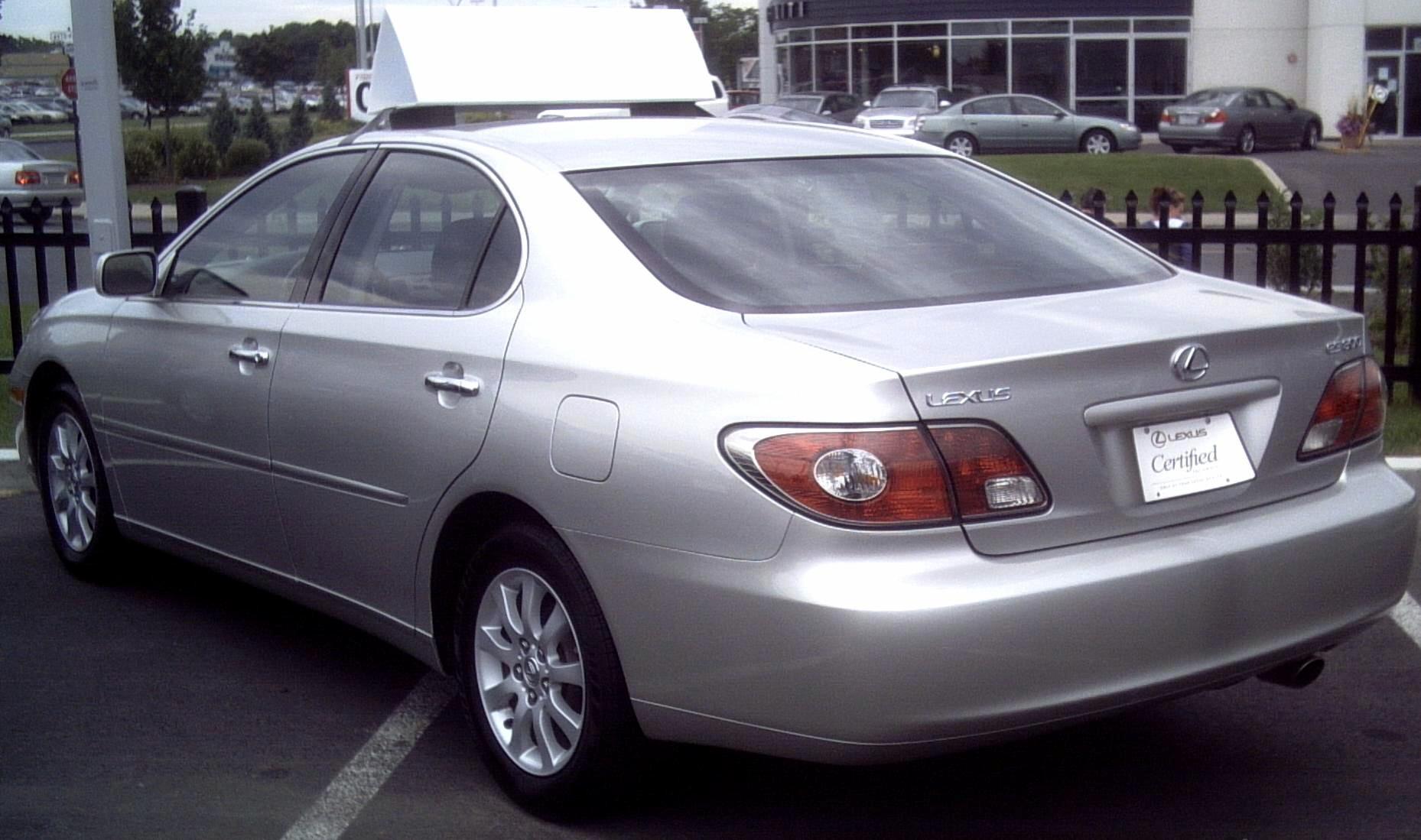 File Lexus ES300 2002 03 JPG Wikimedia mons