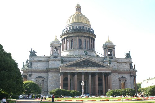 Iisakin kirkko Pietarissa