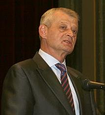 English: Mayor of Bucharest, Sorin Oprescu, in...