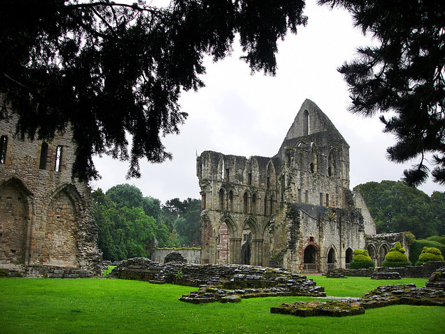 File:St Milburga's Priory, Much Wenlock - geograph.org.uk - 1652411.jpg