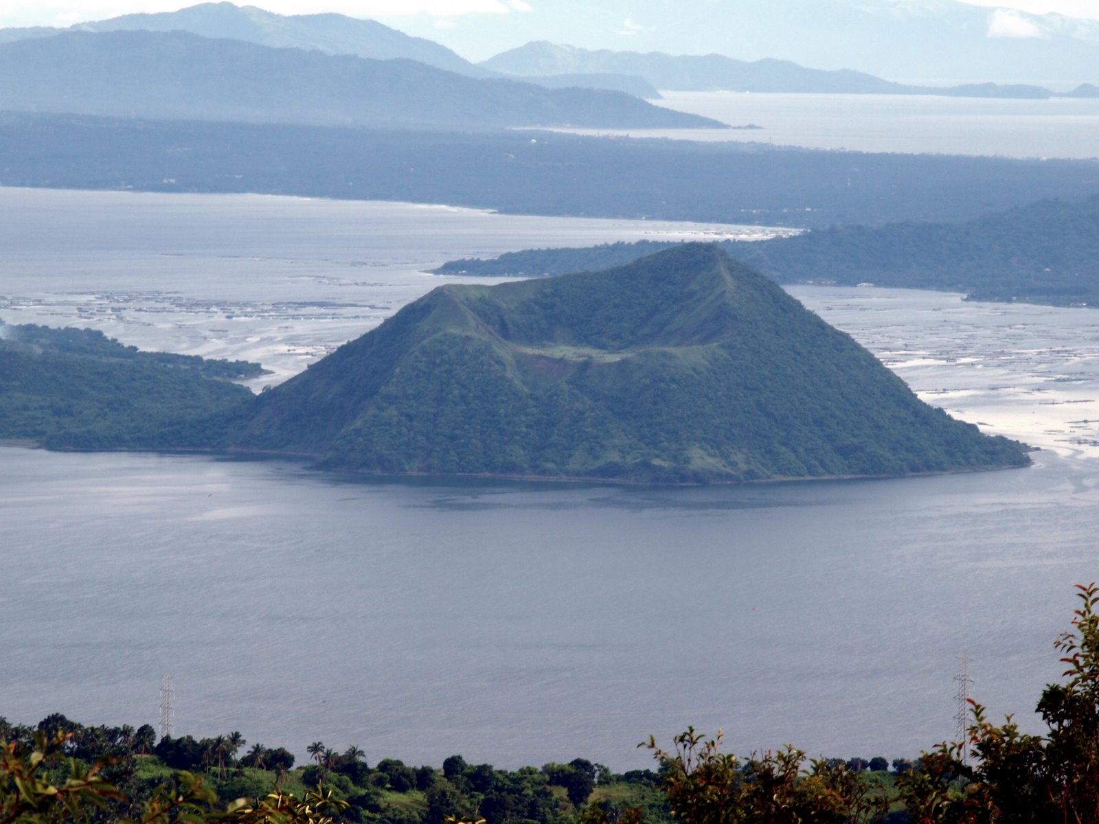 Taal Volcano: View from Picnic Grove Tagaytay