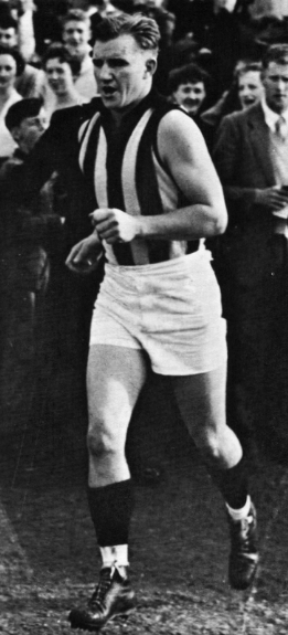 Australian rules footballer Bob Rose