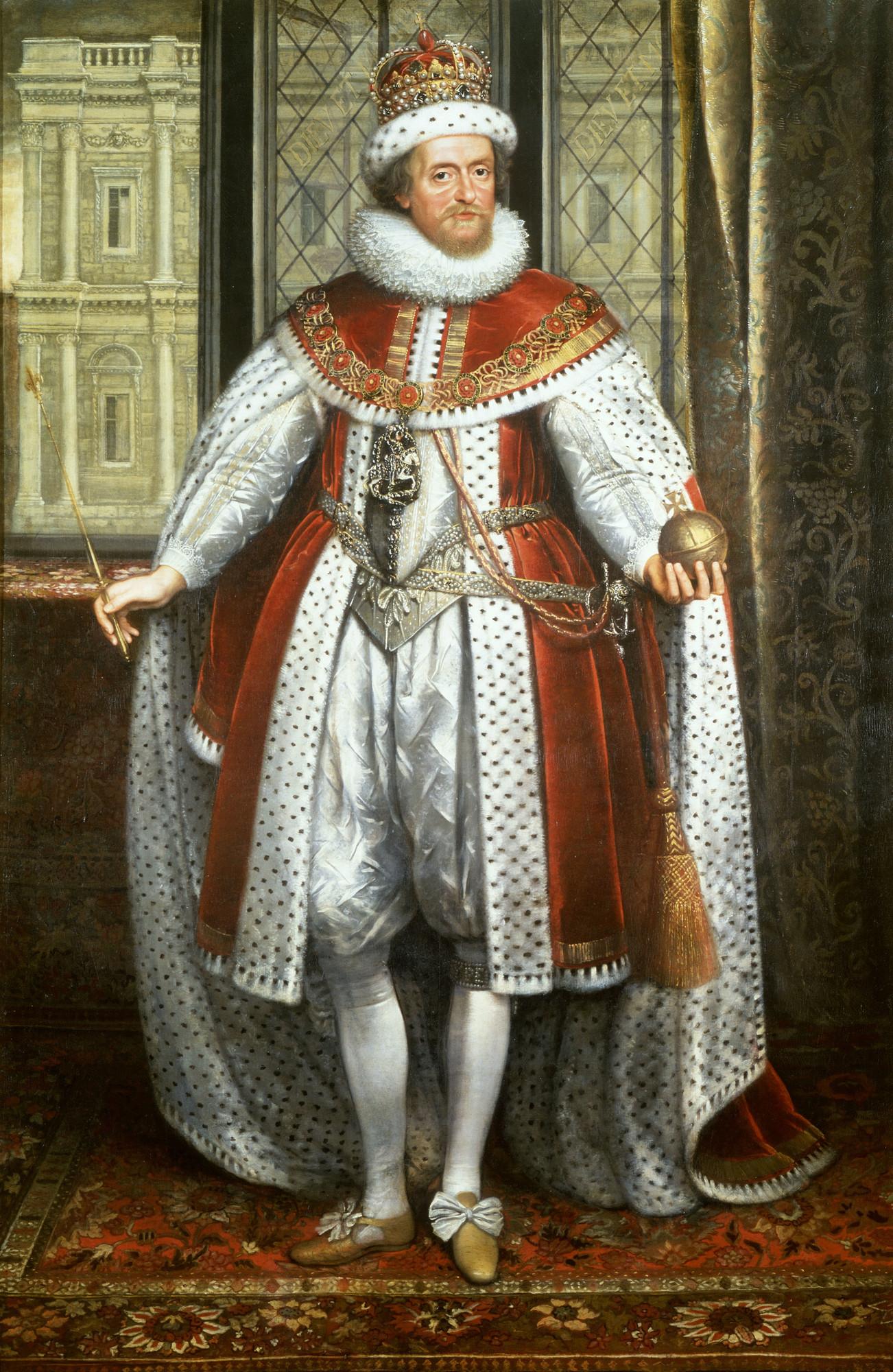 King James I of England and VI of Scotland, nice closeted nerd guy