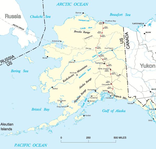 Images Usa Including Alaska