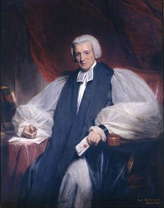 William Howley, Archbishop of Canterbury (1828).