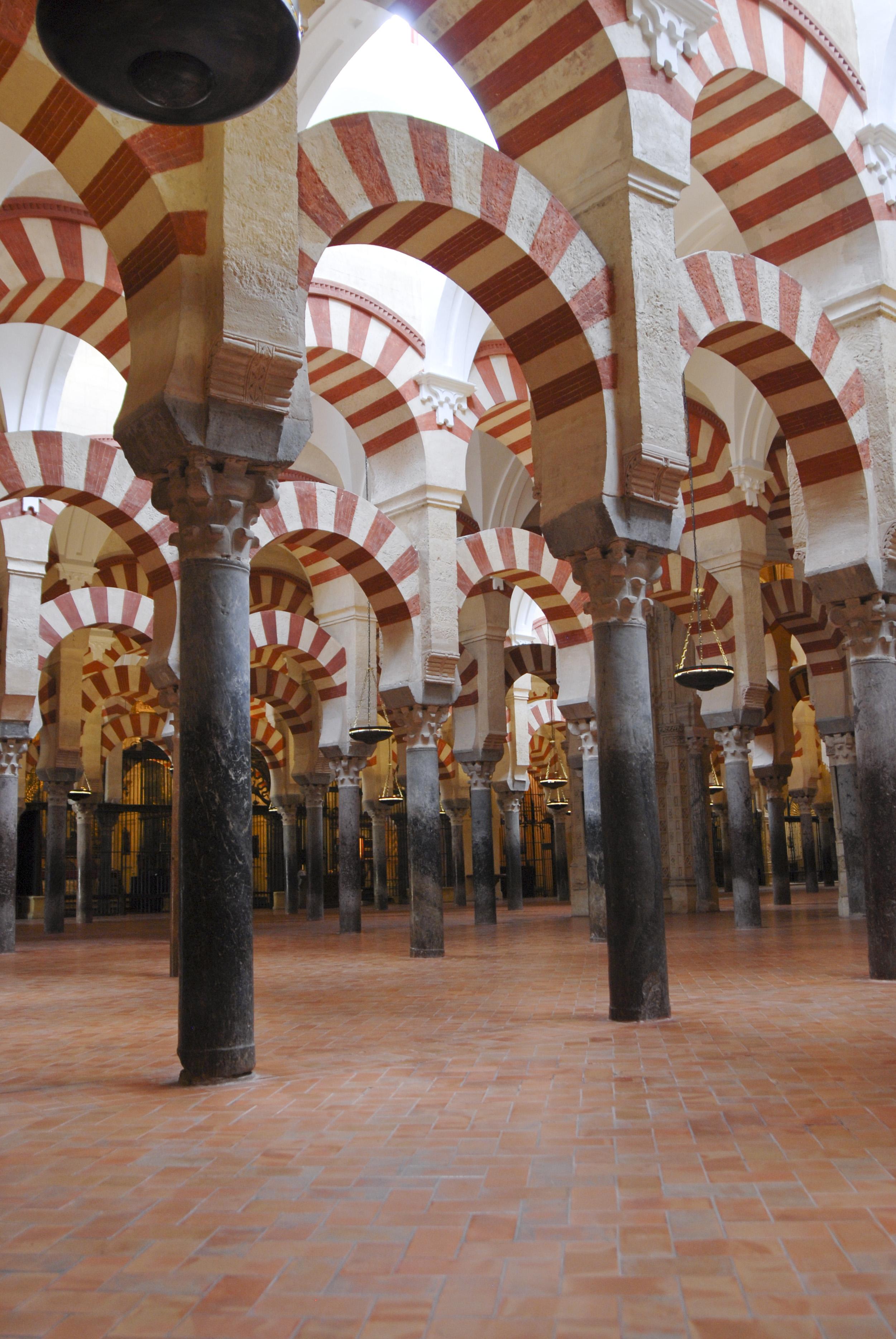 Arkade mošeje v Kordobi