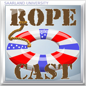 Logo of RoPeCast, and educational podcast on E...