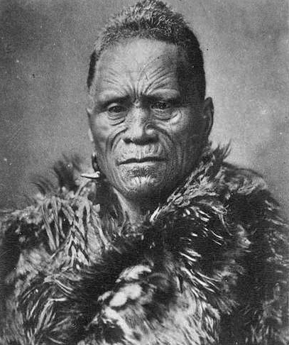 Matutaera Tawhiao, roi des Māoris de 1860 à 1894