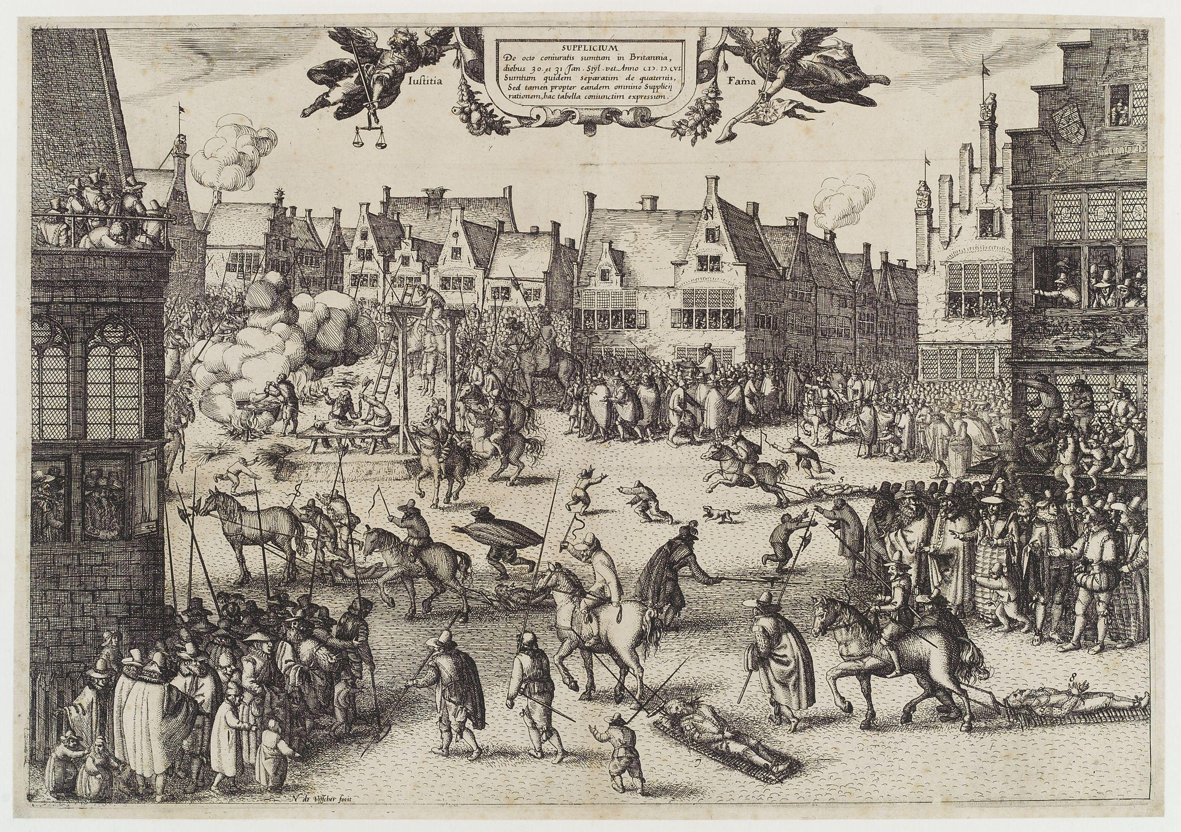 The Execution of Guy Fawkes