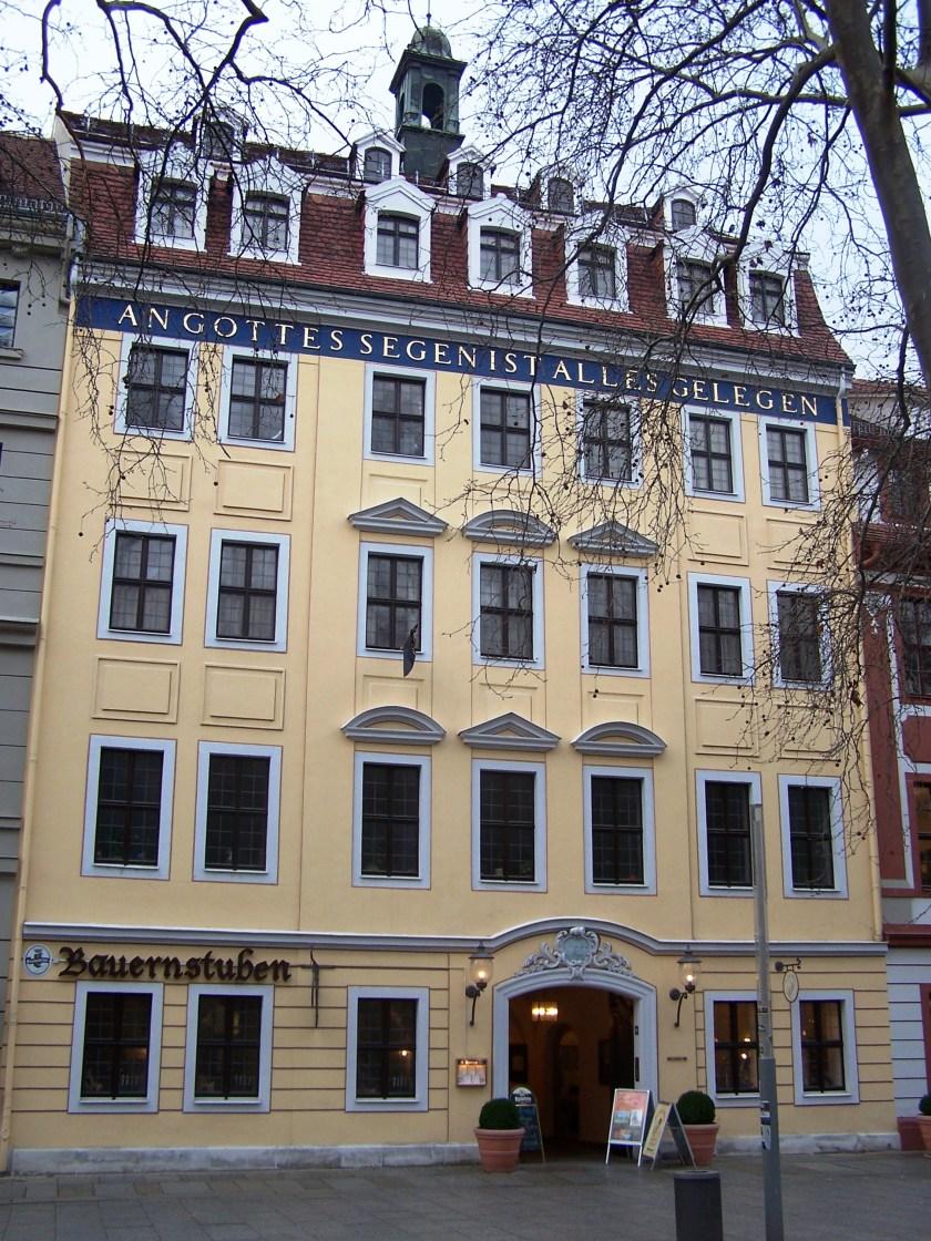 Haus Gottessegen / Kügelgenhaus auf der Dresdner Hauptstraße