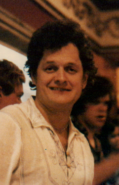 Harry Chapin after his concert at the Paramoun...