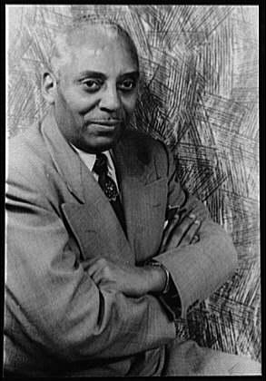 Noble Sissle photo taken by Carl Van Vechten, ...