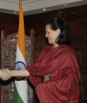 Sonia Gandhi 2009