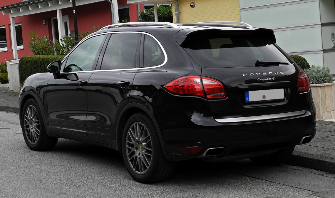 Porsche Cayenne S (92A) %E2%80%93 Heckansicht, 10. Oktober 2011, W%C3%BClfrath Custom Wallpaper For Iphone