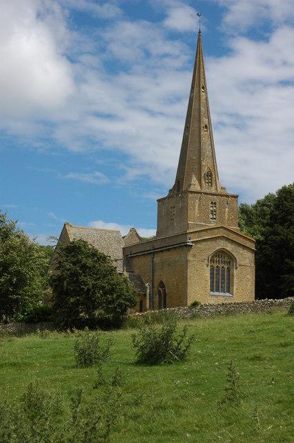 St Nicholas' parish church, Saintbury, Gloucestershire