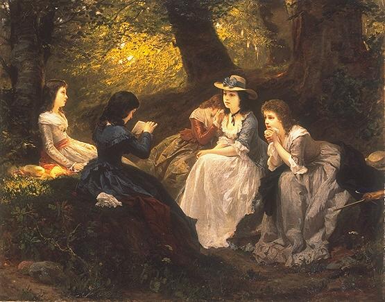 Vorlesung aus Goethes Werther - Wilhelm Amberg