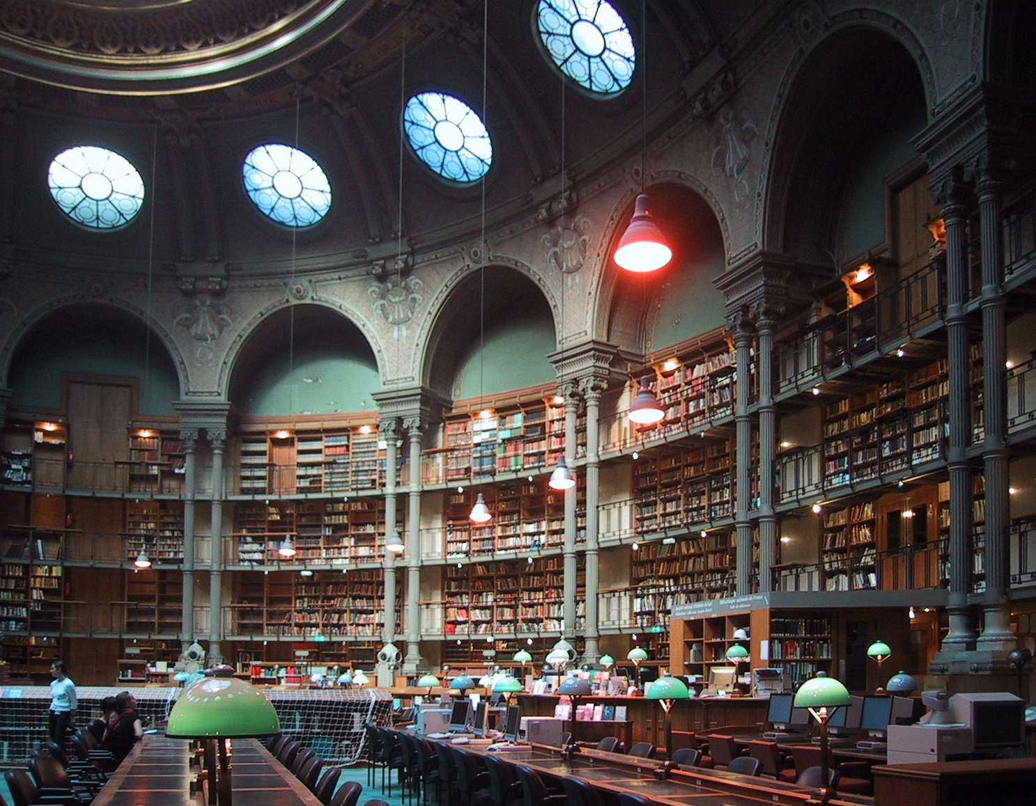 National French library, Richelieu building (o...