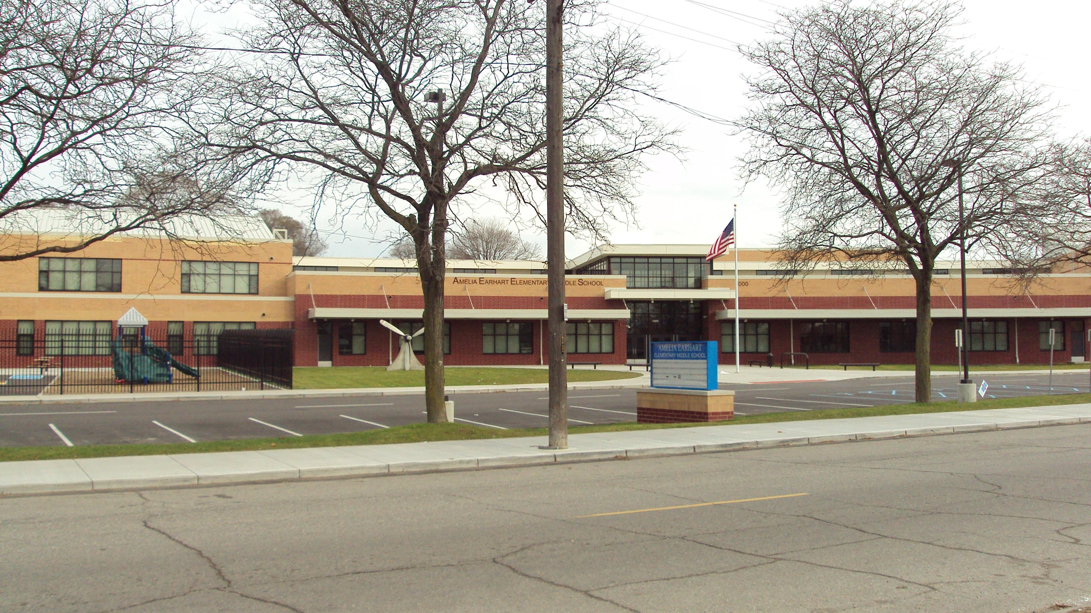 File Earhart Elementary Middle School Detroit