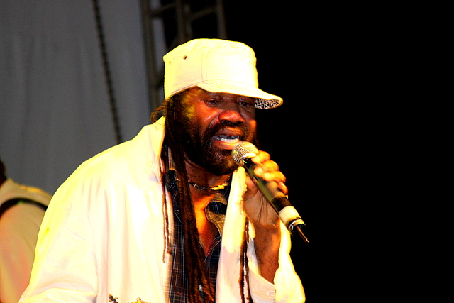 English: Photo of Tony Rebel, Jamaican reggae ...