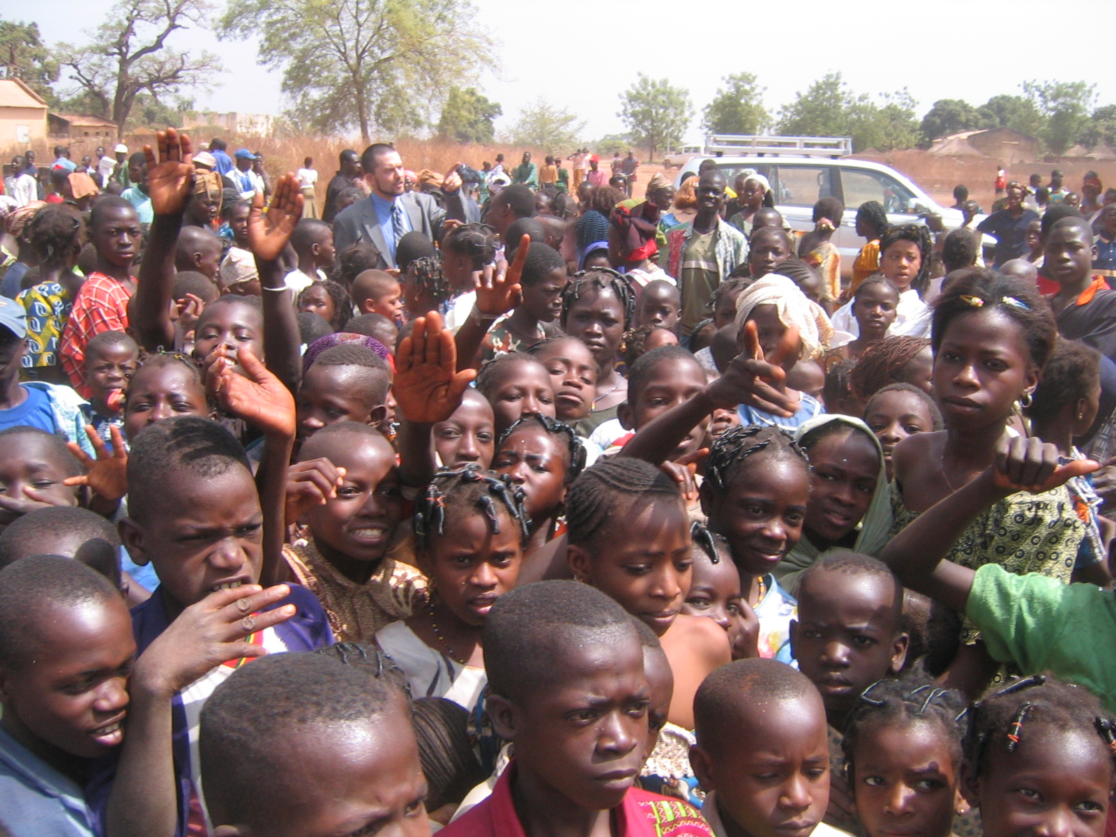 metade da população de Mali tem menos de 15 anos