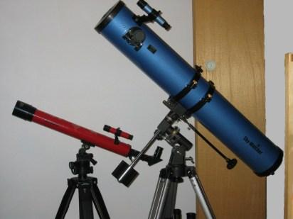 refractor vs reflector telescope