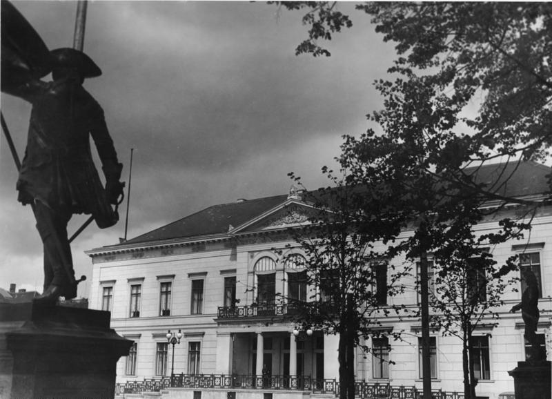 Berlin, Wilhelmplatz, Propagandaministerium