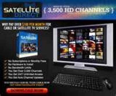 English: Free Tv on PC, using Satellite TV tec...