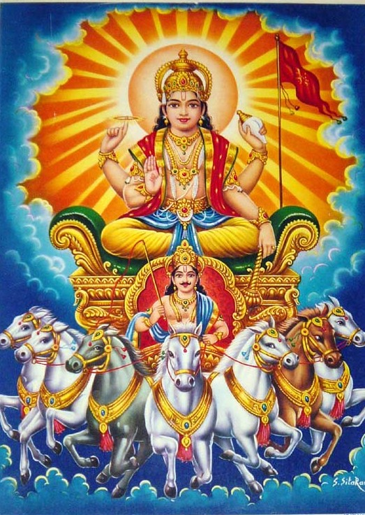 Surya Deva - 7 Horses 7 Chakras