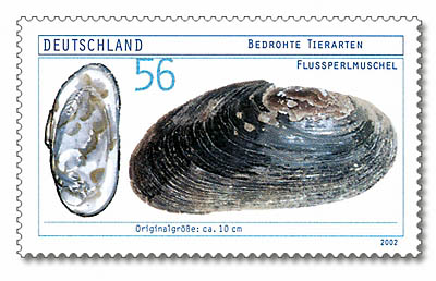 English: Stamp from Deutsche Post AG from 2002...