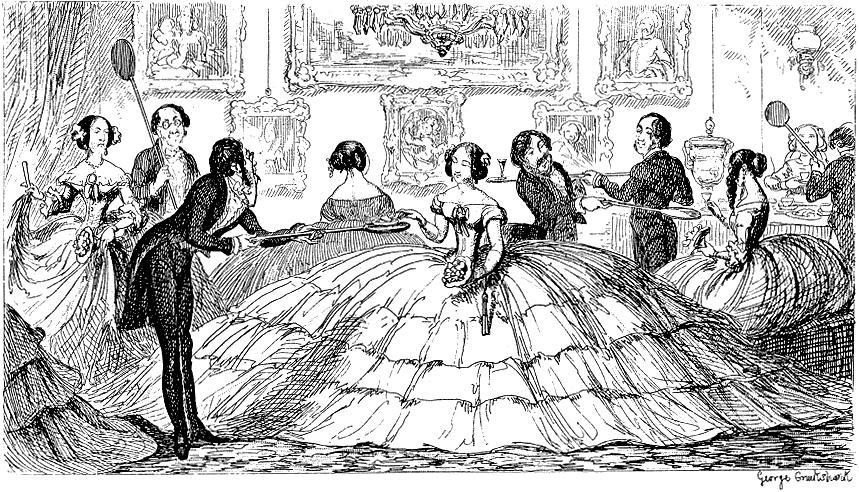 George Cruikshank, from The Comic Almanack, 1850