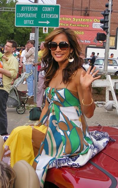 Carrie Ann Inaba on 2008 Kentucky Derby Festival