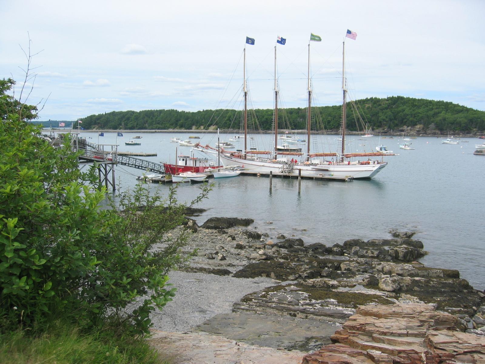 English: Bar Harbor, Maine.