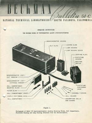 DU spectrophotometer  Wikipedia