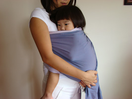 Snuggle Hold using Baby Ring Sling