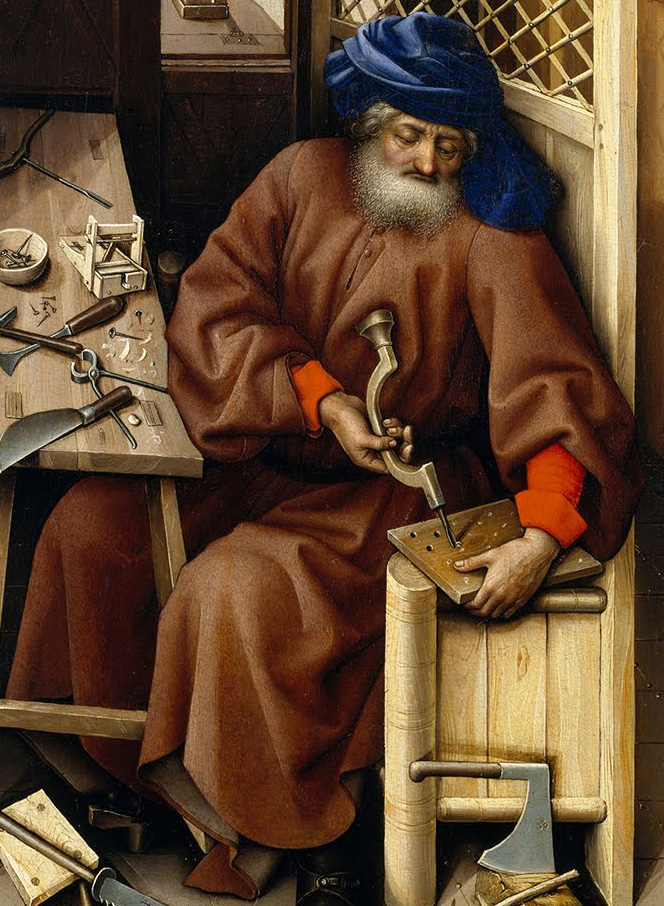 God's Gifts- St Joseph the Carpenter from a tr...