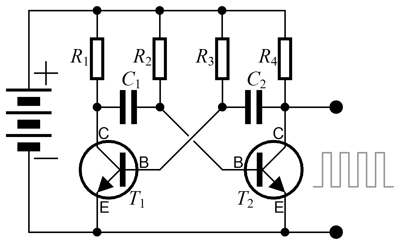 File Astable Multivibrator