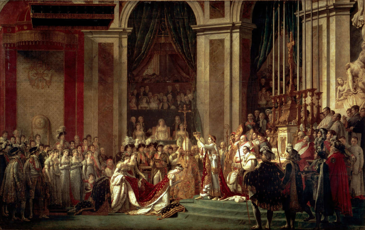 Cuadro de la Coronacion de Napoleon