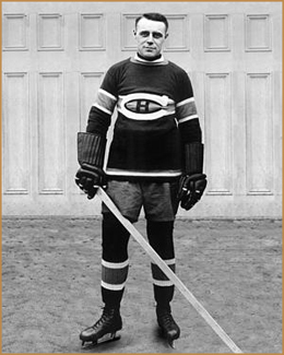 English: Joe Malone in the Montreal Canadiens ...