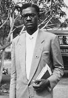 Patrice E. Lumumba; Congo prime minister, prem...