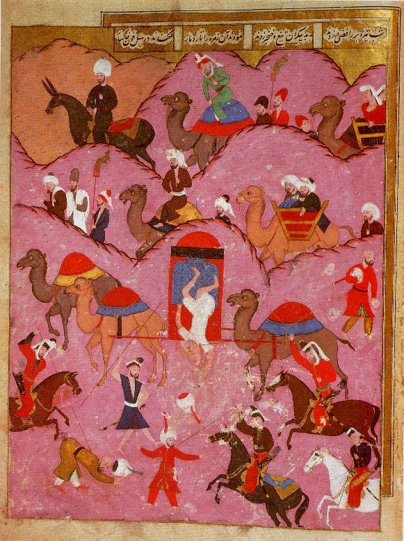 Murder of Ma'sum Beg, the envoy of the Safavid Shah Tahmasp, by Bedouins in the Hejaz, 16th century.