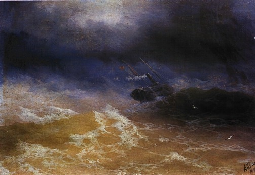 File:Aivasovsky Ivan Constantinovich storm on sea 1899 IBI.jpg